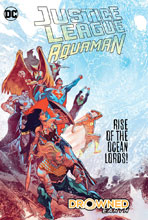 Image: Justice League / Aquaman: Drowned Earth HC  - DC Comics