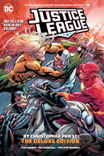 Image: Justice League by Christopher Priest: The Deluxe Edition HC  - DC Comics