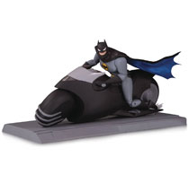 Image: Batman Animated Series Batman & Batcycle Set  - DC Comics