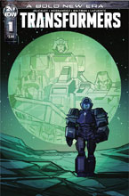 Image: Transformers #1 (cover B - Hernandez) - IDW Publishing