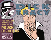 Image: Complete Chester Gould's Dick Tracy Vol. 26: 1970-1792 HC  - IDW Publishing