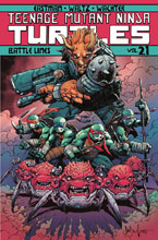 Image: Teenage Mutant Ninja Turtles Vol. 21: Battle Lines SC  - IDW Publishing