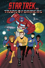Image: Star Trek vs. Transformers SC  - IDW Publishing