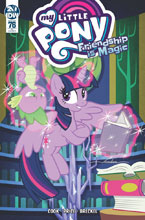 Image: My Little Pony: Friendship Is Magic #76 (incentive cover - Pereira) (10-copy) - IDW Publishing