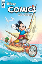 Image: Disney Comics and Stories #4 (main cover - Campinoti) - IDW Publishing