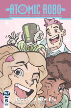 Image: Atomic Robo & the Dawn of a New Era #5 (cover A - Wegener) - IDW Publishing
