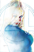 Image: Fantastic Four #8 (variant cover - Sienkiewicz) - Marvel Comics