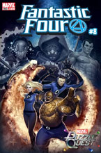 Image: Fantastic Four #8 (variant cover - Mystery) - Marvel Comics