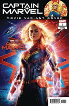 Image: Captain Marvel #3 (variant cover - Movie) - Marvel Comics