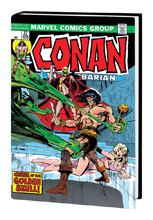 Image: Conan the Barbarian Original Marvel Years Omnibus Vol. 02 HC  (variant DM cover  - Marvel Comics
