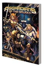 Image: Asgardians of the Galaxy Vol. 01: The Infinity Armada SC  - Marvel Comics