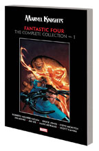 Image: Marvel Knights Fantastic Four by Aguirre-Sacasa, McNiven & Muniz: The Complete Collection Vol. 01 SC  - Marvel Comics
