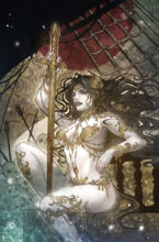 Image: Age of Conan: Belit by Takeda Poster  - Marvel Comics