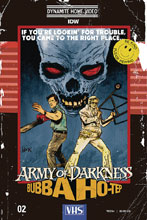 Image: Army of Darkness / Bubba Hotep #2 (cover C - Hack) - Dynamite