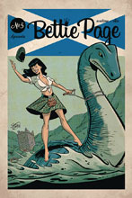 Image: Bettie Page #5 (cover B - Chantler) - Dynamite