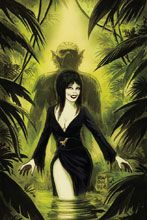 Image: Elvira: The Shape of Elvira #3 (incentive cover - Francavilla virgin) (10-copy) - Dynamite