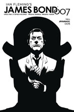 Image: James Bond 007 #5 (incentive cover - Gorham B&W) (20-copy) - Dynamite