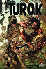 Image: Turok #3 (cover A - Morales) - Dynamite