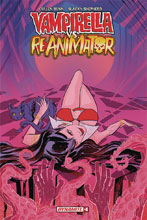 Image: Vampirella vs. Reanimator #4 (incentive cover - Virella Seduction) (10-copy)  [2019] - Dynamite
