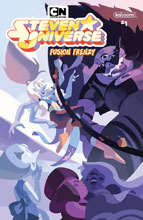 Image: Steven Universe: Fusion Frenzy #1 (cover A - Connecting) - Boom! Studios