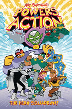 Image: Powers in Action Vol. 01: Introducing the Hero Squadron SC  - Action Lab Entertainment