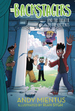 Image: Backstagers Illustrated Novel Vol. 02: Theatre of Ancients HC  - Amulet Books