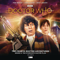 Image: Doctor Who Audio CD: 4th Doctor Adventures - Series 8 Vol. 02  - Big Finish