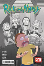 Image: Rick and Morty #48 (cover A - Marc Ellerby) - Oni Press Inc.