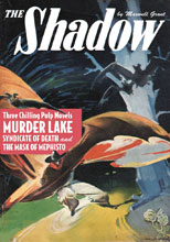 Image: Shadow #140: Murder Lake, Syndicate of Death & The Mask of Mephisto SC  - Sanctum Productions