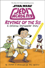 Image: Star Wars: Jedi Academy - Revenge of the Sis HC  - Scholastic Inc.