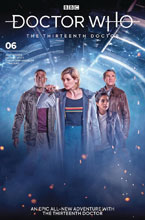 Image: Doctor Who: The 13th Doctor #6 (cover B - Photo) - Titan Comics