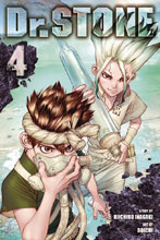 Image: Dr. Stone Vol. 04 GN  - Viz Media LLC