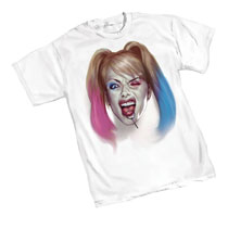 Image: DC Heroes T-Shirt: Harley Quinn - Key  (S) - Graphitti Designs