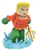 Image: DC Comics Vinimate Vinyl Figure: Aquaman  - Diamond Select Toys LLC