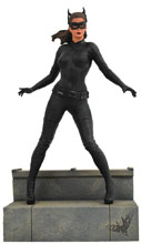 Image: DC Gallery PVC Diorama: The Dark Knight Rises - Catwoman  - Diamond Select Toys LLC