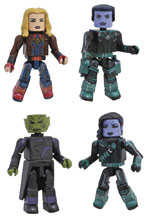 Image: Marvel Minimates: Captain Marvel  - Diamond Select Toys LLC