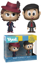 Image: Vynl Mary Poppins Returns Vinyl Figure 2-Pack: Mary Poppins & Jack  - Funko