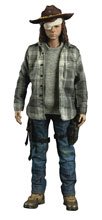 Image: Walking Dead Figure: Carl Grimes  (deluxe edition) (1/6 scale) - Three A Trading Company Ltd