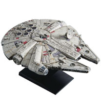 Image: Star Wars Model Kit: Millennium Falcon  (Empire Strikes version) (1/350 scale) - Bandai Hobby
