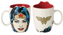 Image: DC Heroes Sculpted Mug: Wonder Woman  - Our Name Is Mud