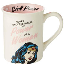 Image: DC Heroes Mug: Wonder Woman Girl Power  - Our Name Is Mud