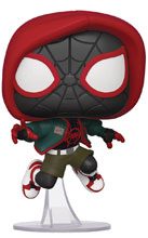 Image: Pop! Previews Exclusive Marvel Bobble-Head 529: Into the Spider-Verse - Miles Morales  - Funko