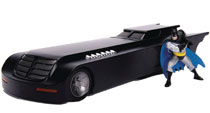 Image: Metals Batmobile Vehicle: Batman Animated  (w/Figure) (1/24 scale) -