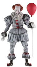 Image: It 2017 Action Figure: Pennywise  (1/4 scale) - NECA