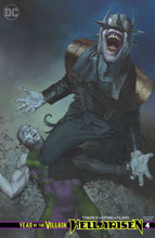 Image: Year of the Villain: Hell Arisen #4 (variant cover - R Federici) - DC Comics
