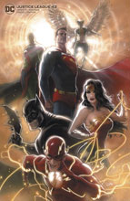 Image: Justice League #43 (variant Card Stock cover - Kaare Andrews) - DC Comics