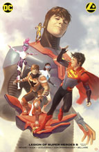 Image: Legion of Super-Heroes #5 (variant Card Stock cover - Alex Garner) - DC Comics