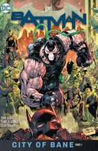 Image: Batman Book 12: City of Bane Part One HC  - DC Comics