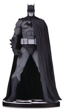 Image: Batman Black & White Statue: Batman Version 3 by Jim Lee  - DC Comics
