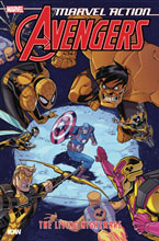 Image: Marvel Action Avengers Book 04: The Living Nightmare SC  - IDW Publishing